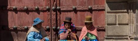 mujeres bolivianas indigenas la paz