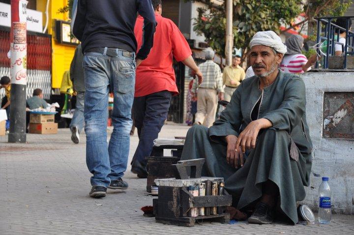 lustrabotas en egipto