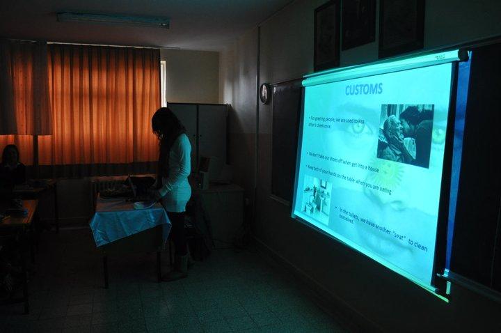 charla cultural colegios secundatios turquia