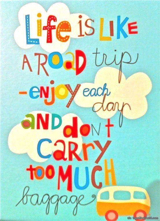 life is like a trip la vida es como un viaje