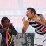 show de clow y magia biciclown