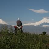 biciclown pedaleando en armenia