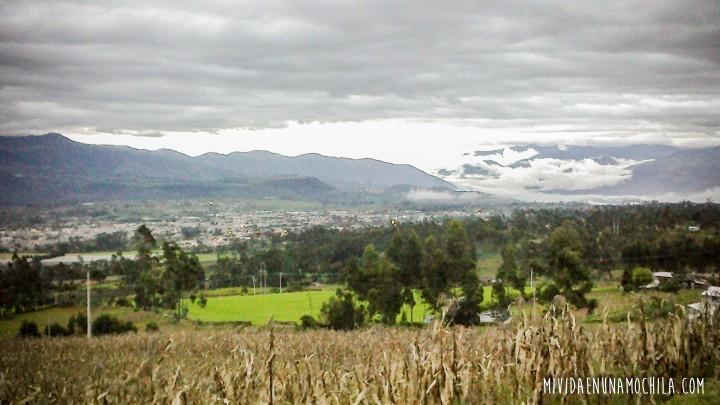camino secundario sierra ecuador