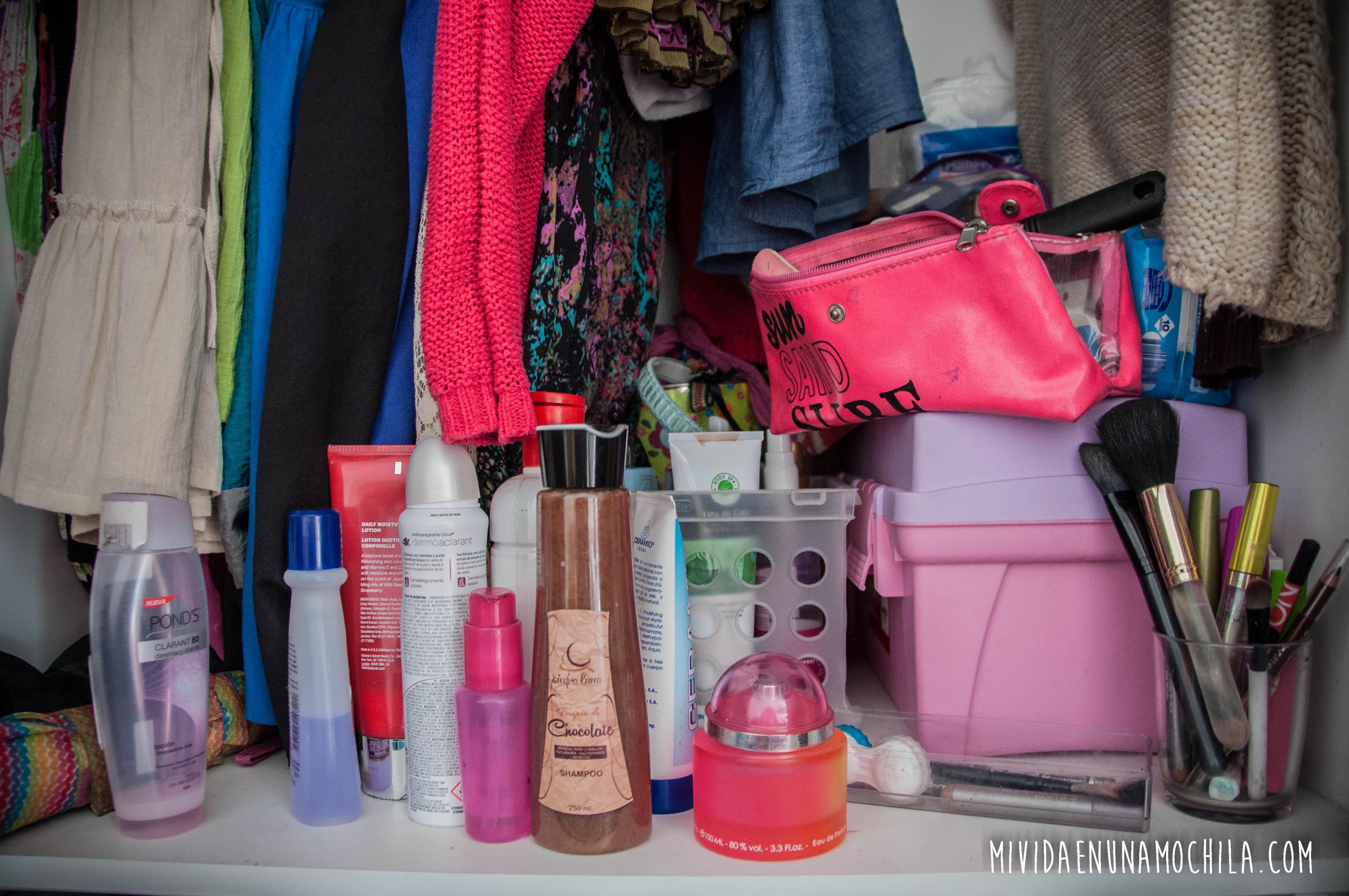 productos belleza en viaje