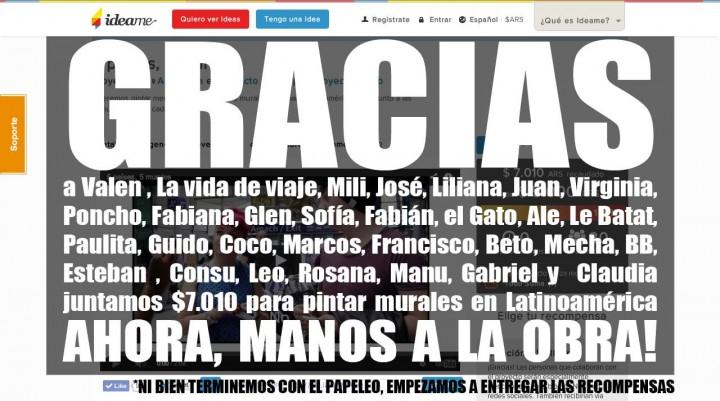 gracias totales #5países5murales  proyecto social viajero