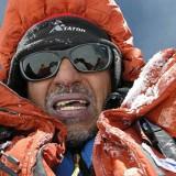 Así más o menos esperaba verlo llegar =p Camino a la cumbre del Dhaulagiri en el 2008 .