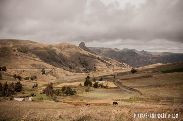 paisaje sierras ecuador