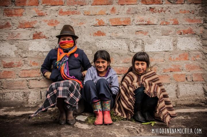 casa quemada comunidad sierras ecuador