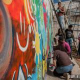 pintada mural mensajes positivos