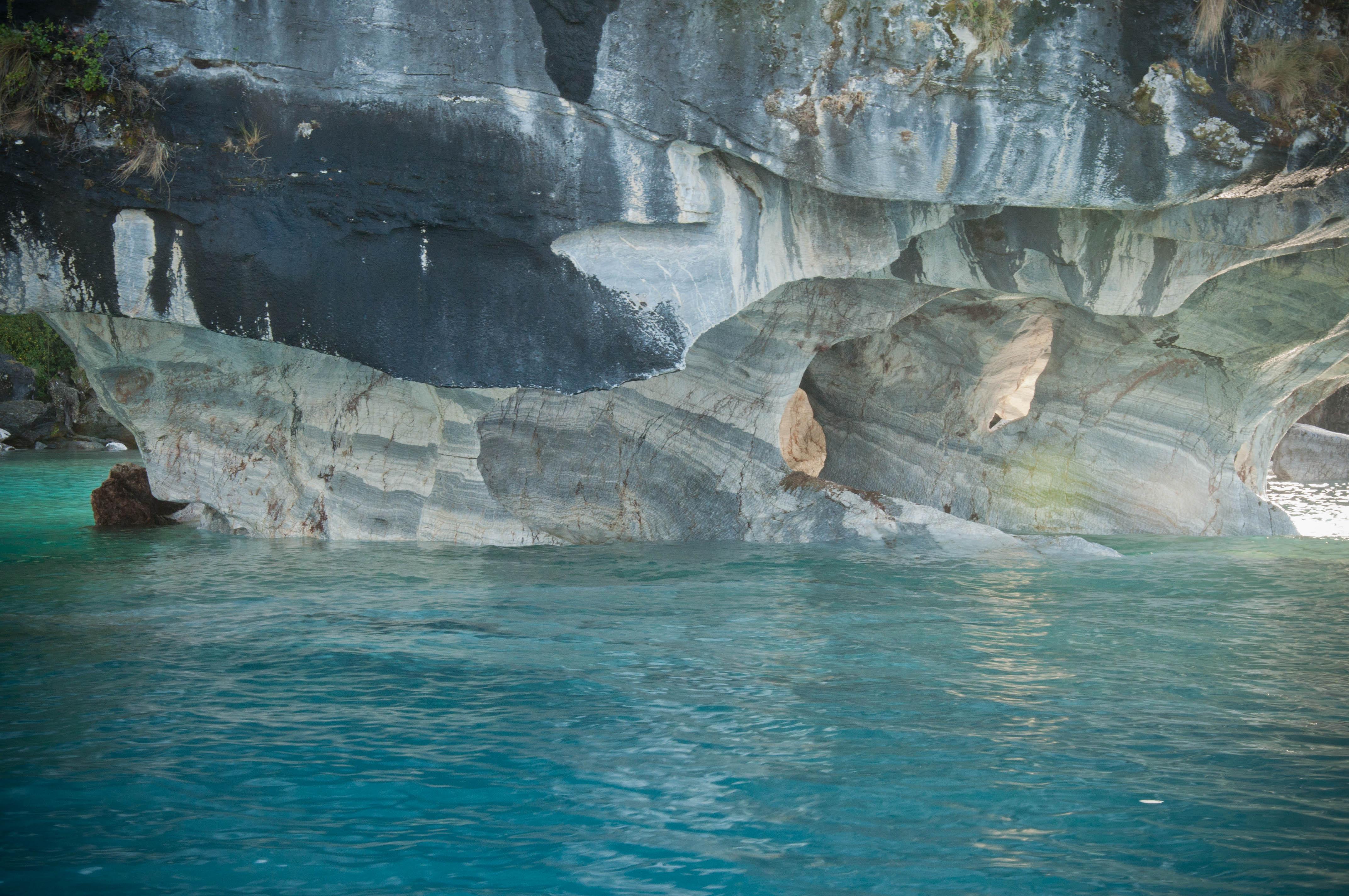 colores cuevas de marmol carretera austral