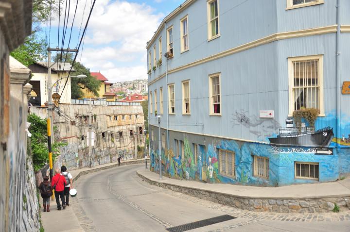 casas de colores valparaiso chile