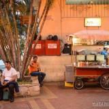 puestos callejeros comida