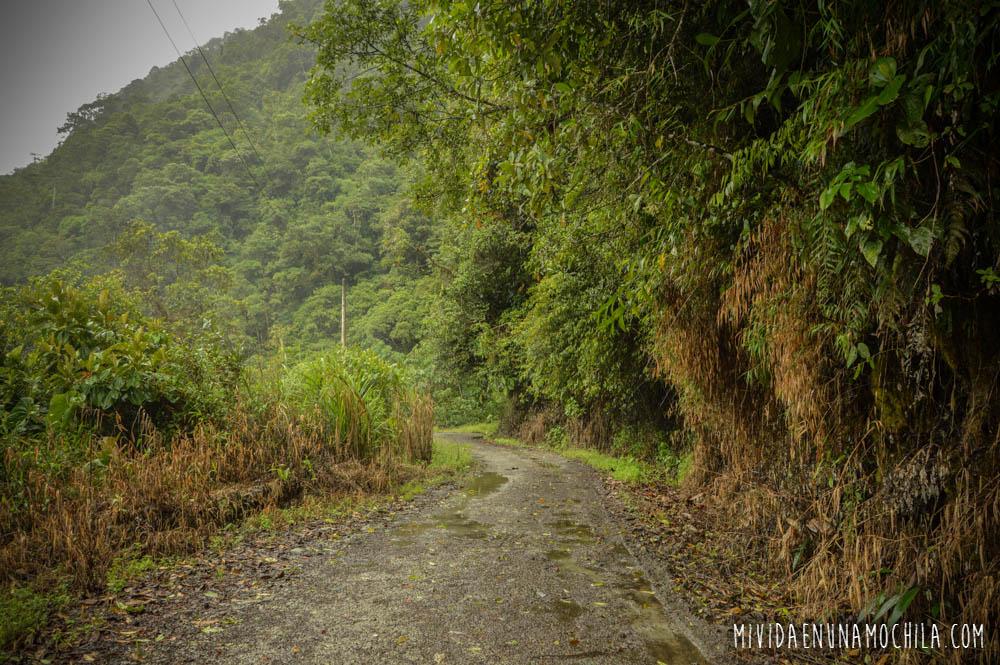 caminos ruta tour cascadas baños ecuador