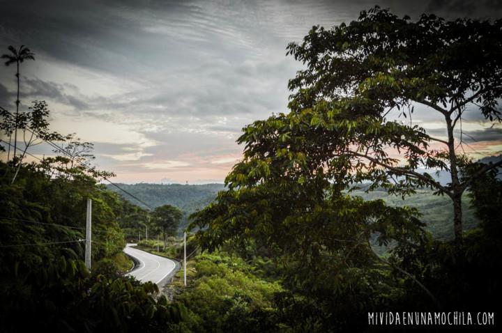 atardecer oriente amazonia ecuador