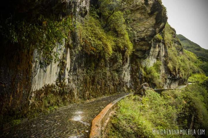 camino para bici baños