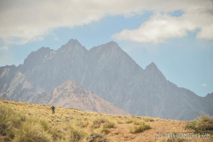 en bici por la montaña