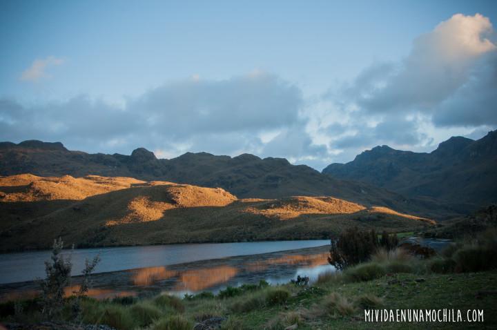 paisaje parque nacional cajas
