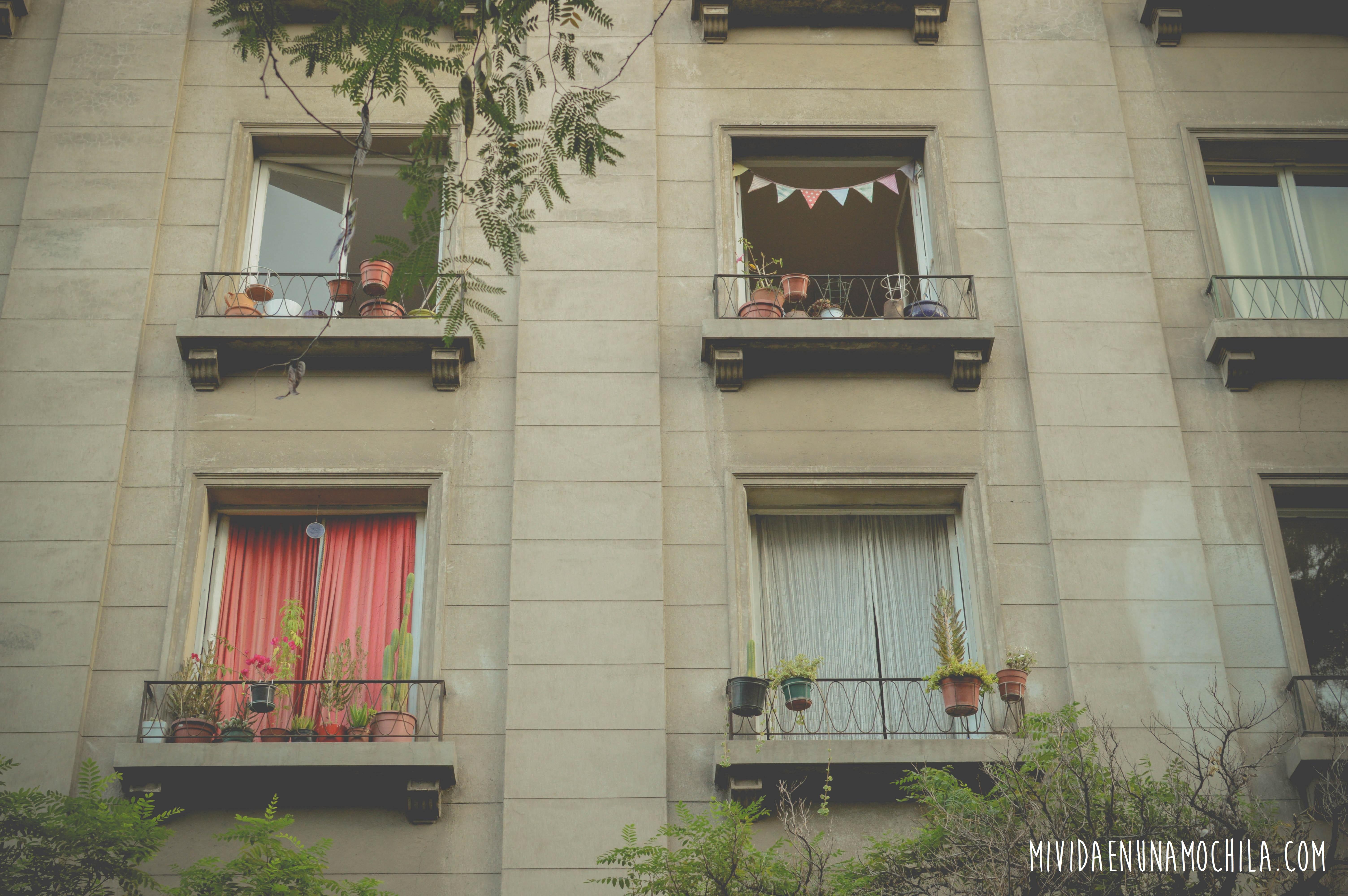 balcones santiago chile