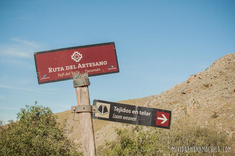 ruta del artesano vuelta al valle