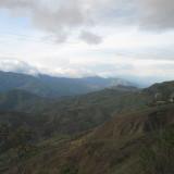 montañas atardecer colombia