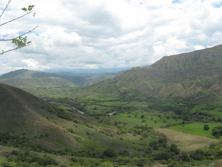montañas cordillera colombia