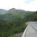 ruta bici colombia rosas