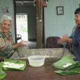 hacer pan de maíz