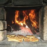 hornear pan de maiz